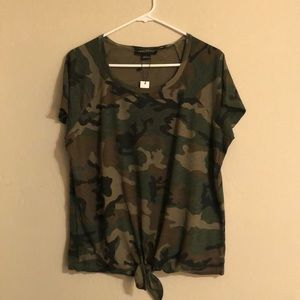 Sanctuary Short Sleeved Camo T-Shirt